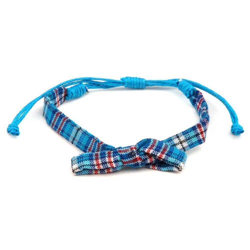 Joe Cool Bracelet Tartan Made with Cotton