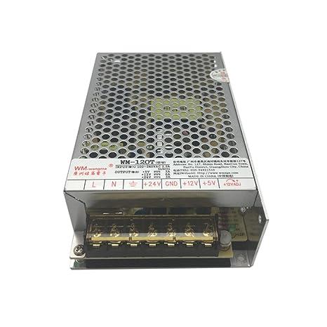 Output 120T 5V 12V 24V Switching Power Supply for Arcade