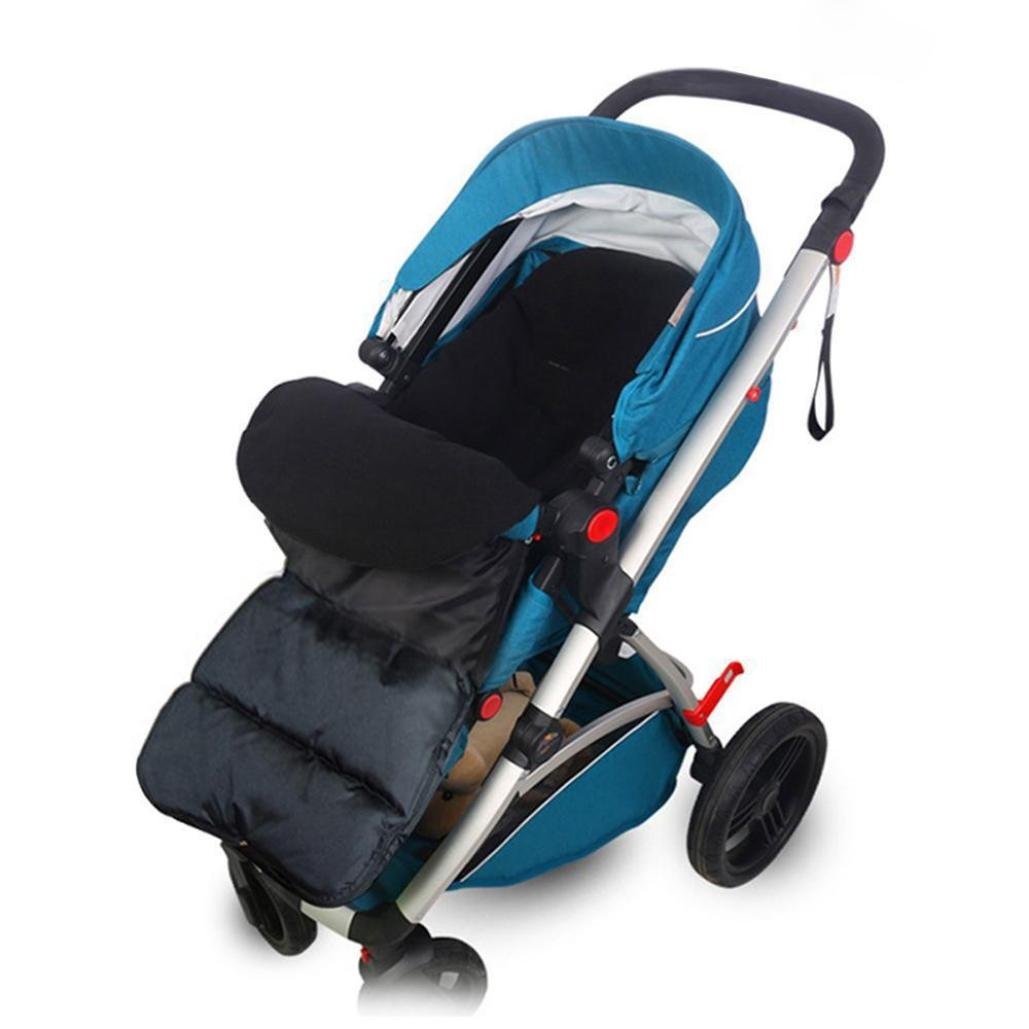 Manguito de pies universal de Gaddrt para carritos y sillas de paseo, negro