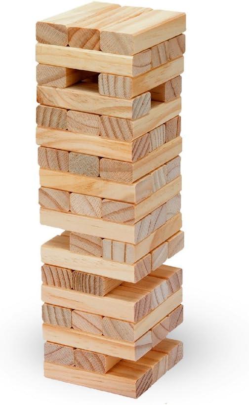 Tachan-2090 Torre de Madera, 57 Piezas, Color marrón (CPA Toy ...