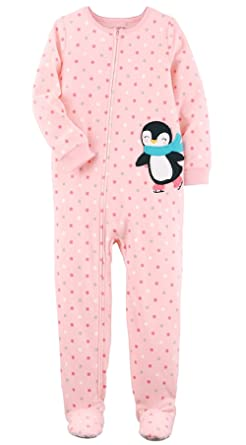 Amazon.com  Carter s Big-girls  1 Pc Fleece Footed Blanket Sleeper ... bc9c942c6