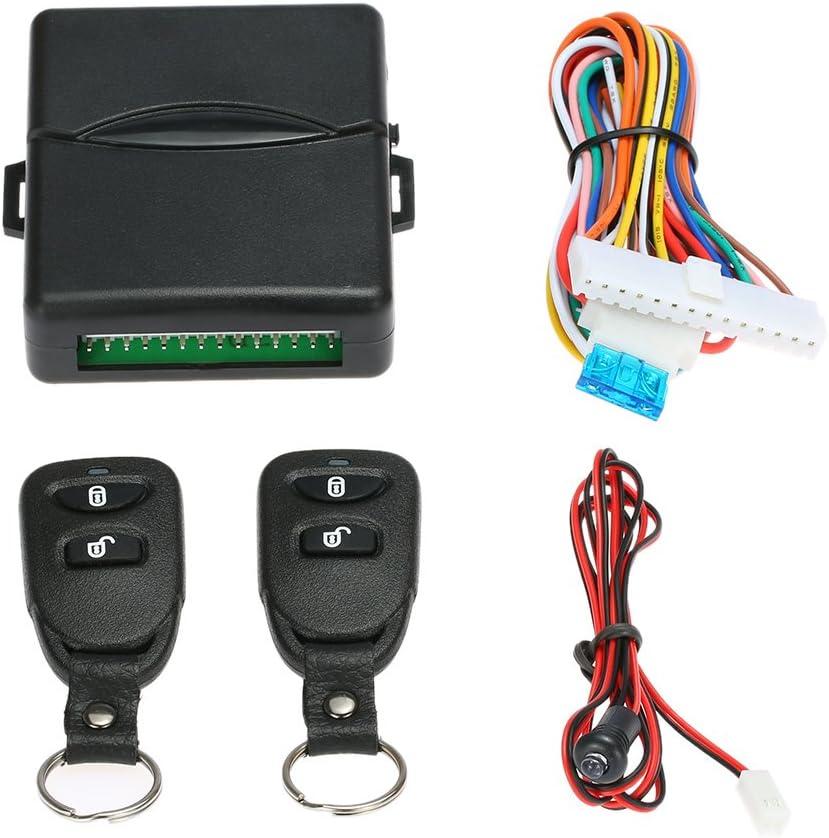 KKmoon - Mando a distancia para cerradura central del automóvil - Sistema de apertura sin llave Kit 8