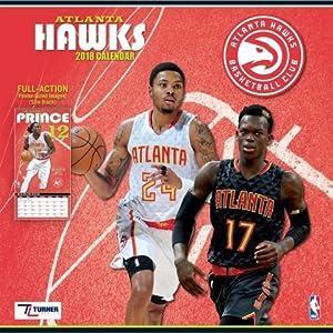Atlanta Hawks 2018 Calendar