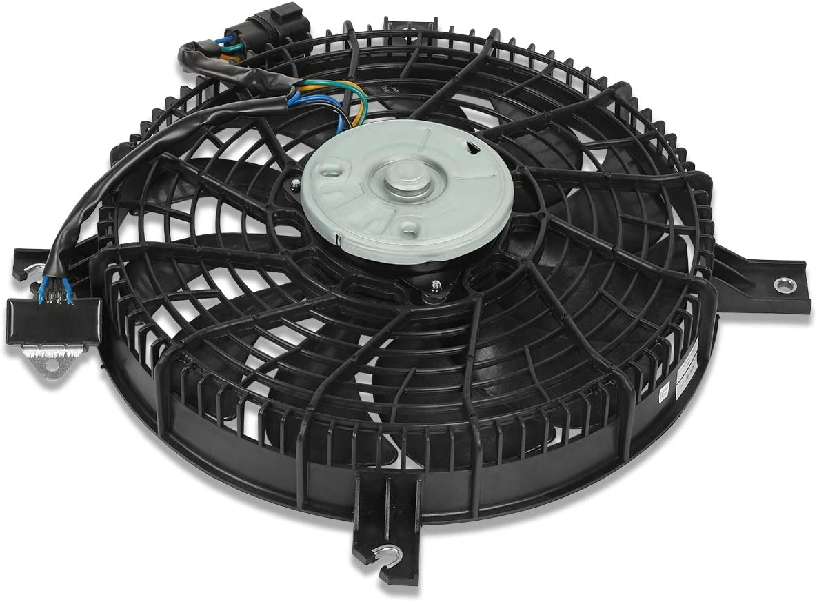 SZ3113111 OE Style AC Condenser Cooling Fan Assembly Replacement for Suzuki XL7 03-06
