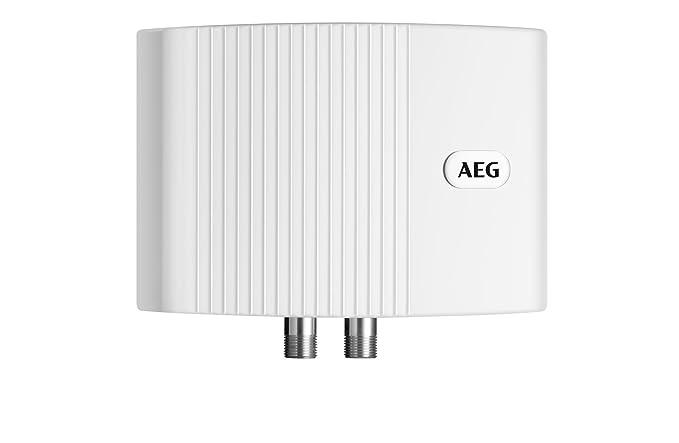 AEG 189554 MTH 350 - Calentador de agua de sistema abierto (tamaño pequeño, 3,5 kW, 230 V), color blanco - [Importado de Alemania]: Amazon.es: Bricolaje y ...