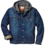 Legendary Whitetails Men's Hideout Conceal and Carry Denim Jacket Denim Small