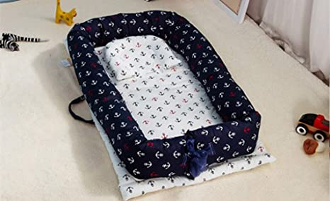 Portable bionic bed Toddler Cotton Cradle Baby Bassinet bumper Foldable Sleeper