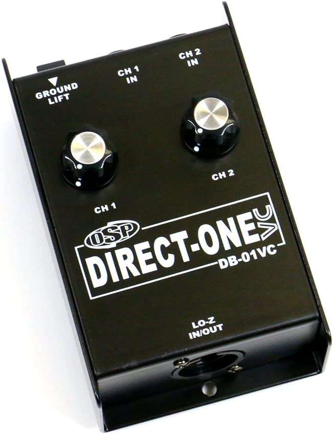 OSP DB-01VC Two-Input Direct Box with Volume Control