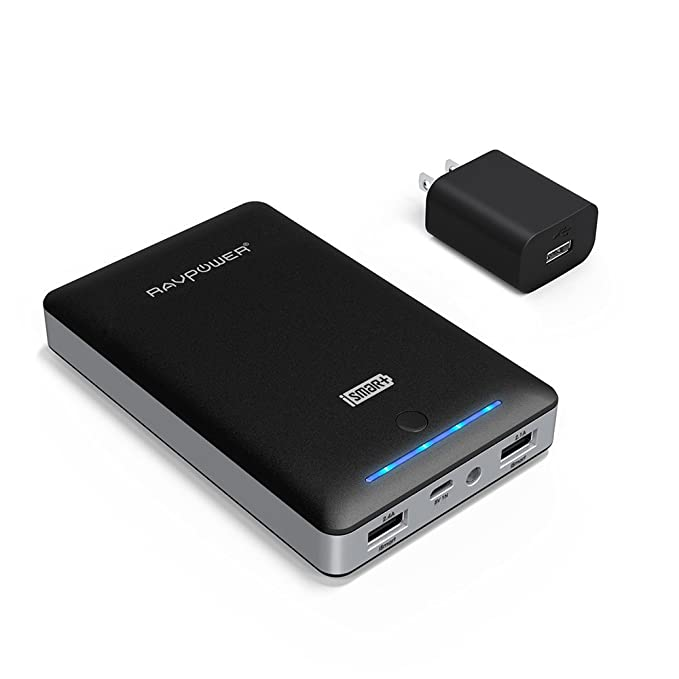 Battery Pack RAVPower 16750mAh Portable Charger Power Pack Power Bank + 2A Wall  Charger (Dual fedde4b961