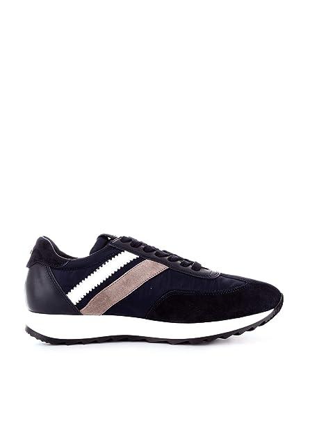 Cesare Paciotti 4Us Sneakers Uomo TTJU1TCANAVY Pelle Blu
