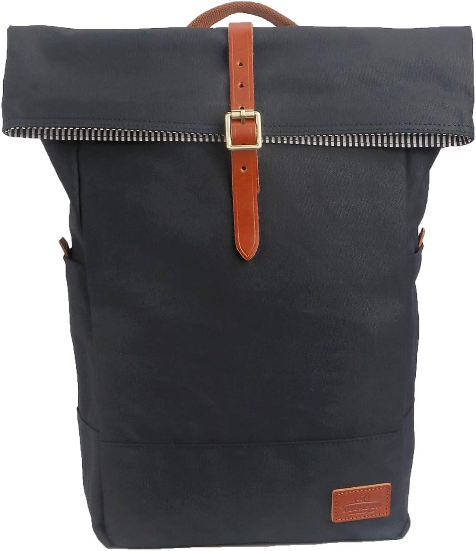 Tourbon Canvas Pannier Backpack Bicycle Bike Shoulder Tote Bag for 15 inch Laptop