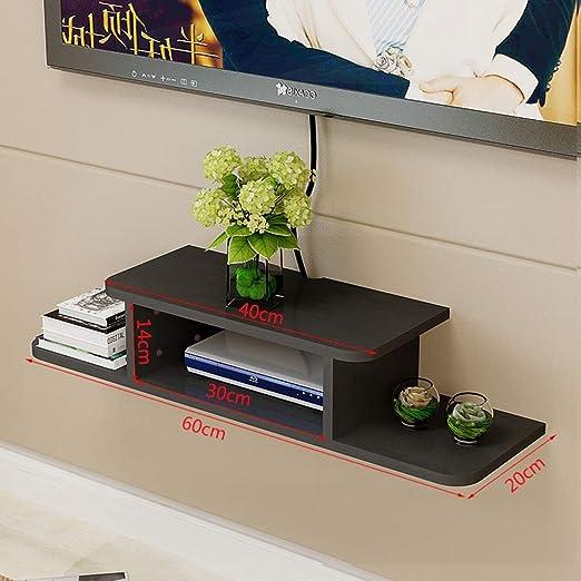 MGN Soporte de TV móvil de Madera con Estante móvil, Organizador Multimedia, máquina para Videojuegos, Reproductor de DVD, portacables, Peso 30 kg: Amazon.es: Hogar
