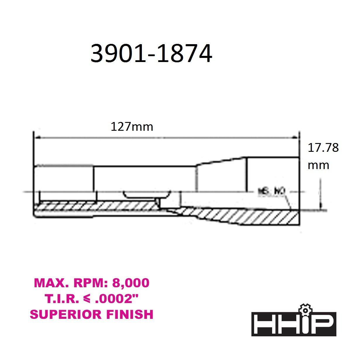 Hhip R8/pro-series a cono morse manica R8 to MT4 1