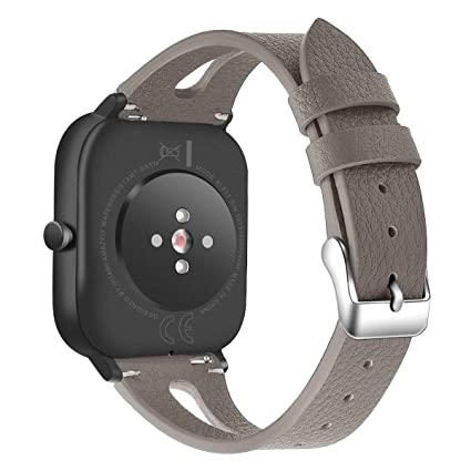 Amazon.com: Bands Compatible with Amazfit GTS, Slim Genuine ...