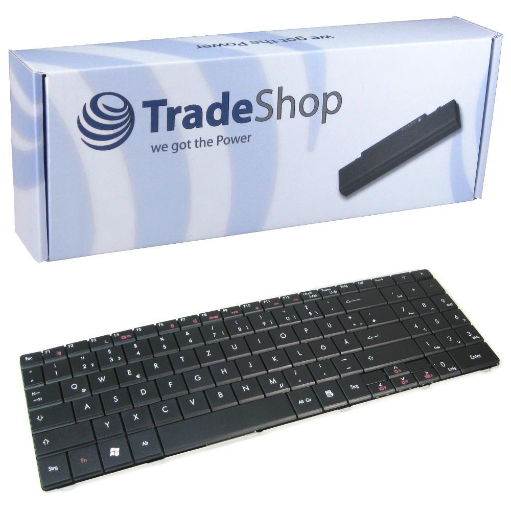 Teclado de ordenador portátil/Notebook Keyboard Intercambio Alemán QWERTZ de repuesto para Packard Bell EasyNote DT85 LJ65 LJ75 TJ65 TJ75 TJ66 TJ67 TJ68 ...