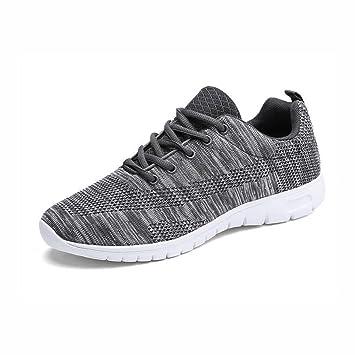 WYX Zapatos al Aire Libre Zapatillas de Deporte Casuales, Calzado Deportivo, Zapatillas para Caminar, Zapatillas de Deporte Ligeras de Cordones atléticos, ...