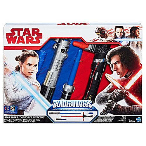 Bladebuilders Store Exclusive Kylo Ren Rey Star Wars Duel Battler LightSaber (Exclusive Battle Pack)