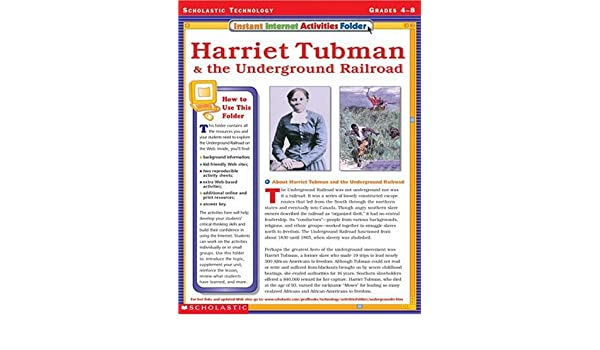 Instant Internet Activities Folder: Harriet Tubman & the ...