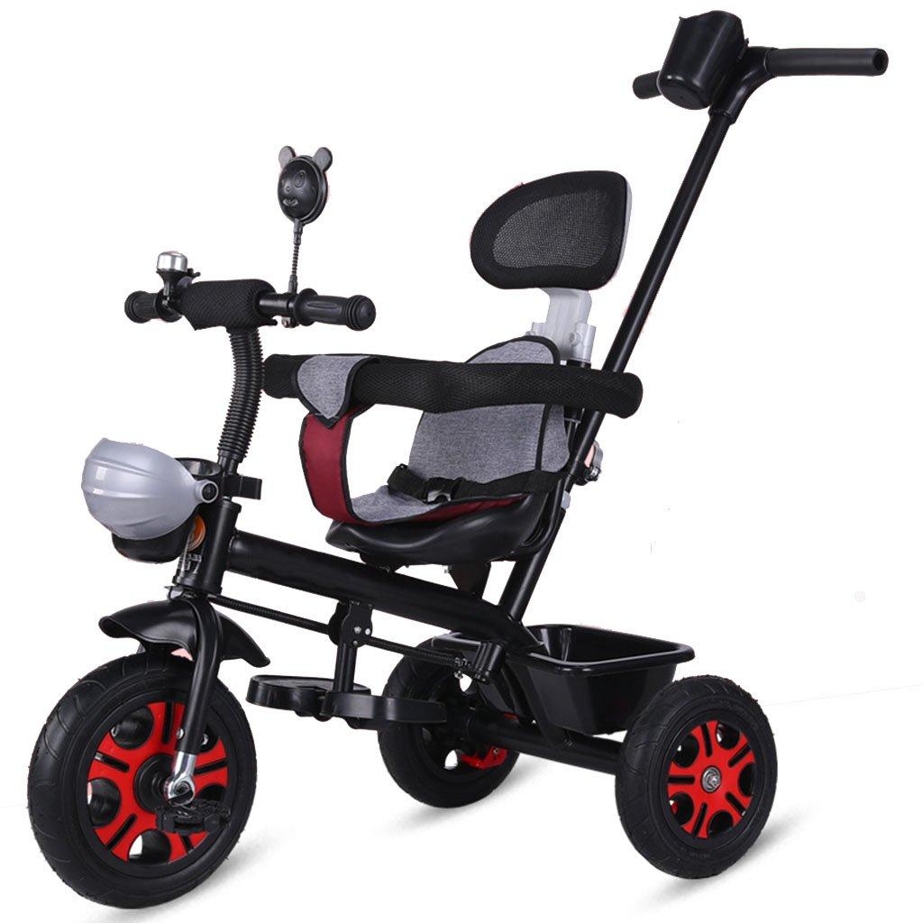 QQB &Carro Plegable Triciclo Infantil Bicicleta para niños Trolley 1-3 años Rueda de Espuma (Color : # 4): Amazon.es: Hogar
