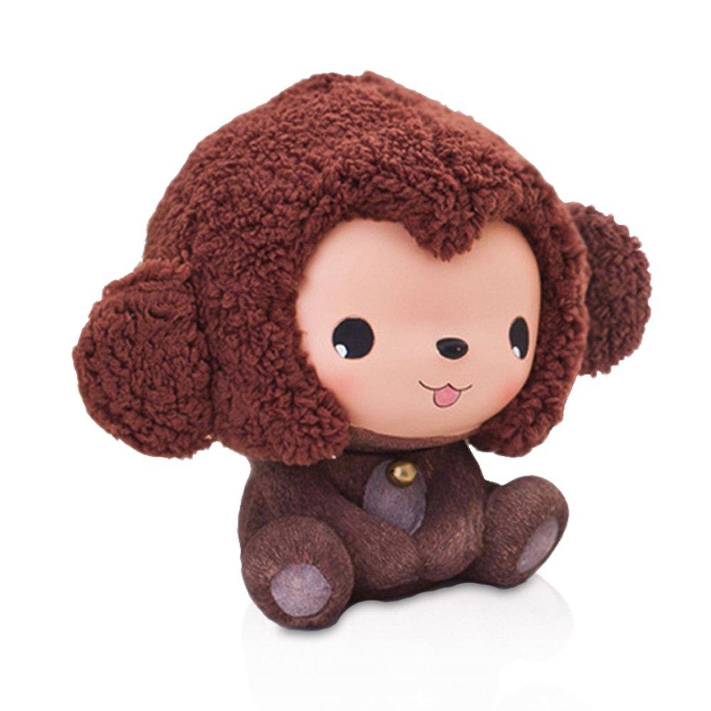 Wukongぬいぐるみおもちゃrecordkeeping Monkey Coinストレージ動物貯金箱for Kids   B01N0SQX7B