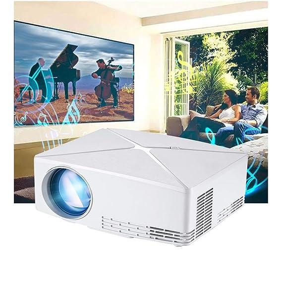 ZUEN 2019 Nuevo proyector C80 Home proyector portátil 1280 * 720p ...