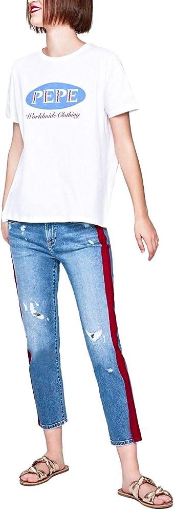 Pepe Jeans Jolie Tux Jeans Blue Blue 2 Amazon Co Uk Clothing