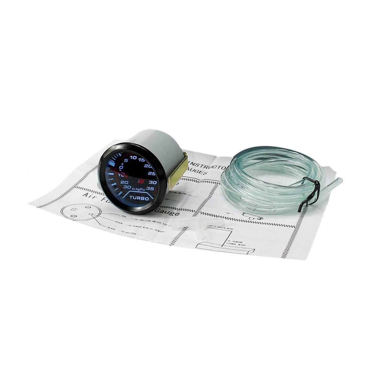 CNSPEED - Medidor digital de potencia turbo para coche (12 V ...