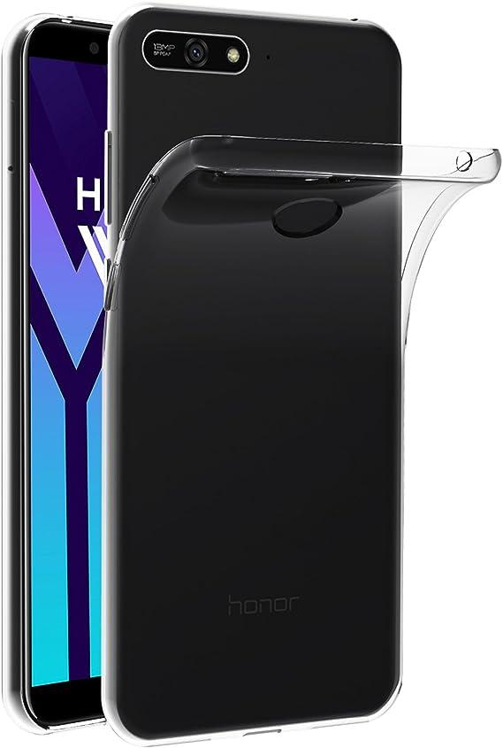 ivoler Funda Carcasa Gel Transparente para Huawei Y6 2018 / Huawei ...