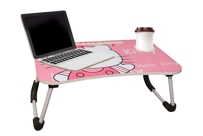Kids Multipurpose Foldable Bed Study Table Cum Laptop Table
