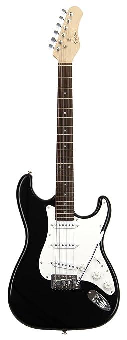 Tipo Eagletone dom Estado Stratocaster guitarra eléctrica Negro