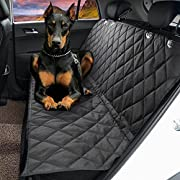 "Amazon #LightningDeal 70% claimed: Dog Seat Cover,EVELTEK Luxury X-Large 152x147cm /60""x58"" Backseat Nonslip Scratch-proof Waterproof& Abrasion Resistance Pet Dog Car Seat Cover & Hammock 