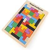 La Cabina Brain Teaser Puzzle Bois Tetris Enfant Puzzle de Développement Jeu de Puzzle Jouet Puzzle Bois Puzzle 3d Lumineux Multicolore