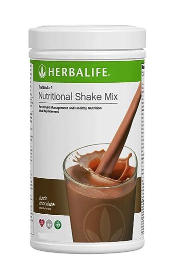 Herbalife Formula 1 Nutritional Shake Mix, Dutch Chocolate, Net Wt. 27.5 OZ.