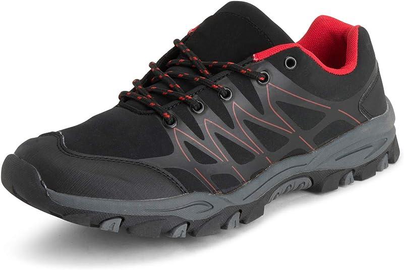 Get Fit Hommes Poids L/éger De Plein Air Engrener en Marchant Randonn/ée Durable des Chaussures Formateurs