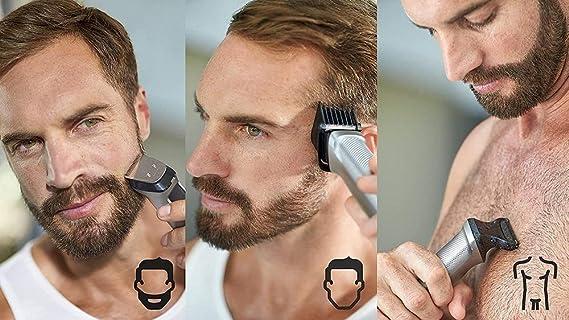 Philips Barbero MG7710/18 Recortador de barba y pelo, óptima ...