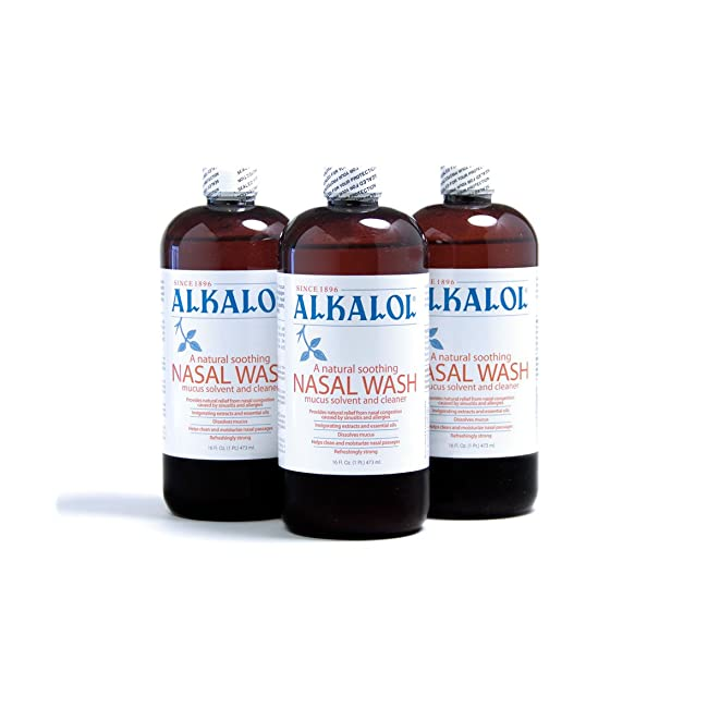 Alkalol Solution Original Nasal Wash, 3 Count ...