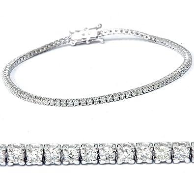 bf223fa327d 2ct Diamond Tennis Bracelet 14K White Gold 7