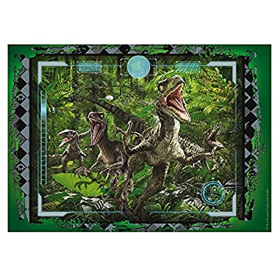 Lisciani 48656 Jurassic Raptor Puzzle Df Supermaxi 60 Pezzi