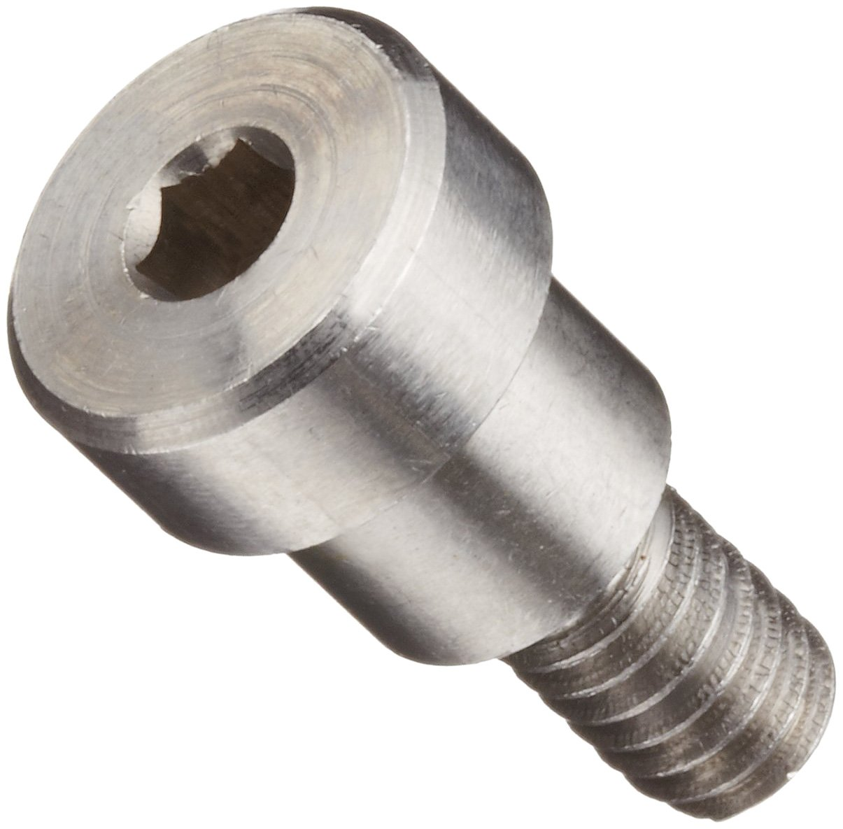 #8-32 UNC Threads Pack of 5 1 Shoulder Length 3//16 Shoulder Diameter Hex Socket Drive Tolerance Plain Finish 303 Stainless Steel Shoulder Screw