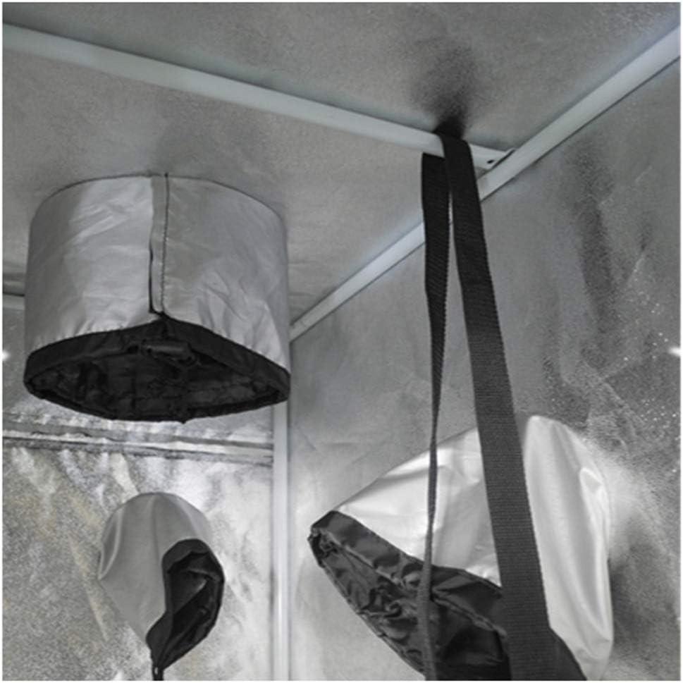 un huerto de Cultivo hidrop/ónico de Interior del Brote Verde de Plantas Sala de Canopy Hydro Caja de Mylar Plata 600D Oxford QIDIAN Crece la Tienda 300 x 150 x 200 cm