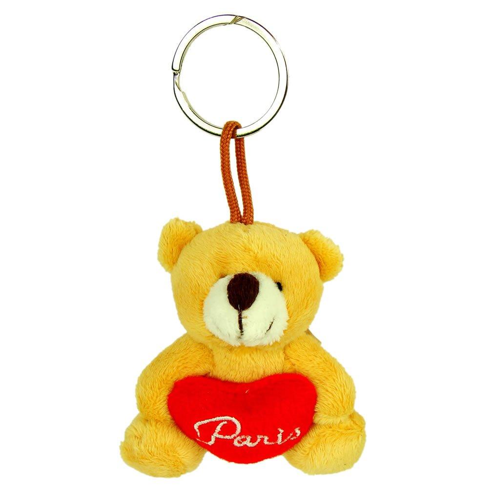 Amazon.com: Recuerdos de Francia – Paris Teddy Bear llavero ...