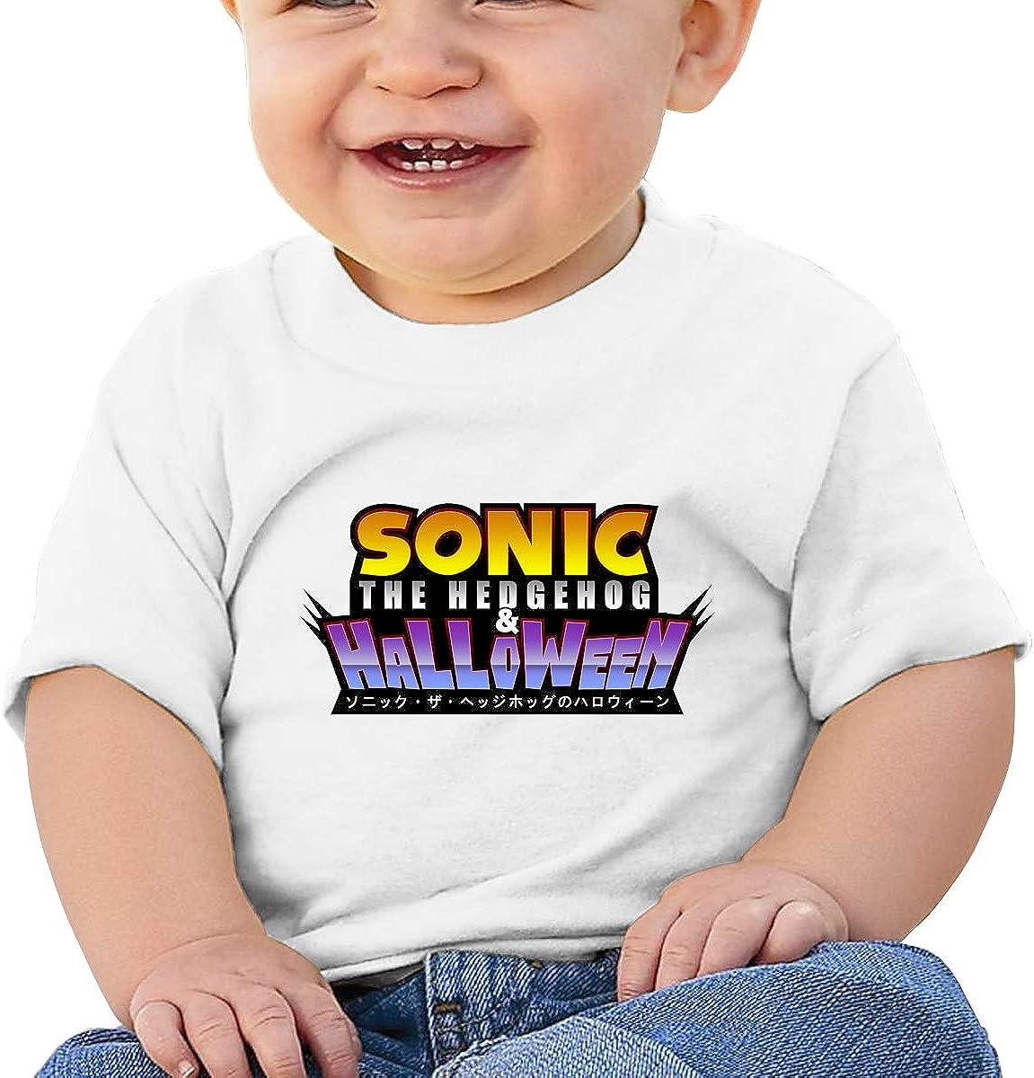 Zippem Sonic Short Sleeve T-Shirt Best for Baby Toddler//Infant Kids T-Shirt Close Skin Soft