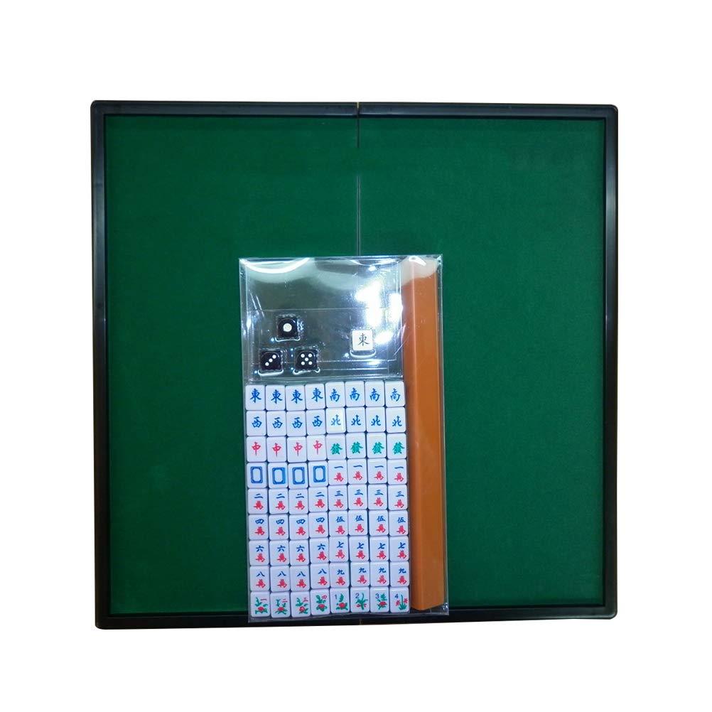 [해외]Vosarea 휴대용 마작 세트 중국 미니 마작 게임 재미 있는 가족 테이블 보드 게임 (조각품) / Vosarea Portable Mahjong Set Chinese mini mahjong game funny Family Table board game (sculpture)