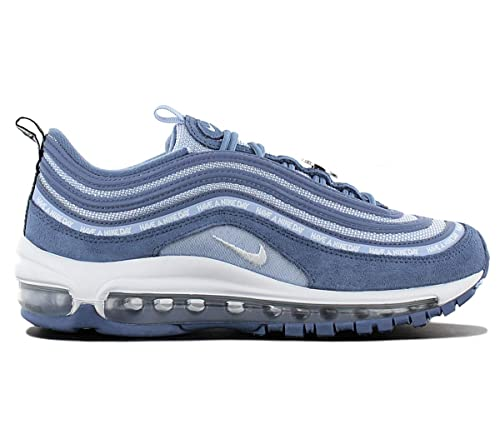 Nike Air MAX 97 SE (GS) Zapatillas, Color Azul, Blanco y