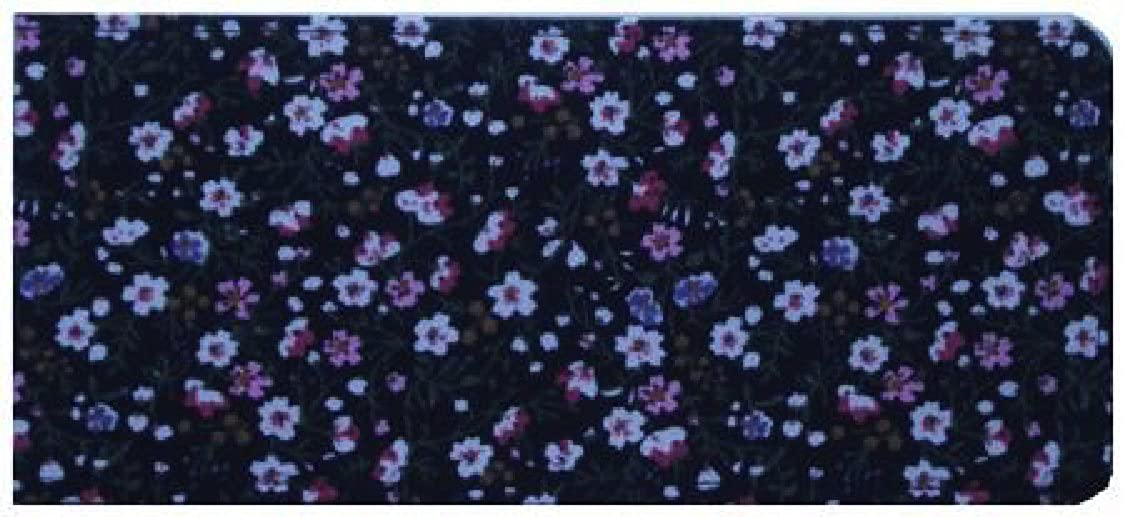 Laminated/Glossy Wild Flower Chequebook Cover/Checkbook Cover MPLGLOSBCB942