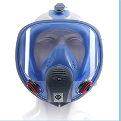 Festive & Party Supplies For 6800 Silicone Gas Mask Full Facepiece Respirator Painting Blue Full Face Spraying Mask Anti Dust