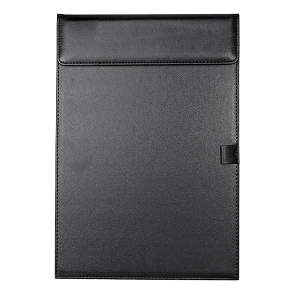 Clipboard, Conference Pad, Padfolio Clipboard Folder,Ultra-SmoothOffice Business ClipBoard PU Leather Writing Pad A4 File Organizer Clip Folder Magnetic Conference Pad Holder with Pen Holder Loop VANTIYAUS