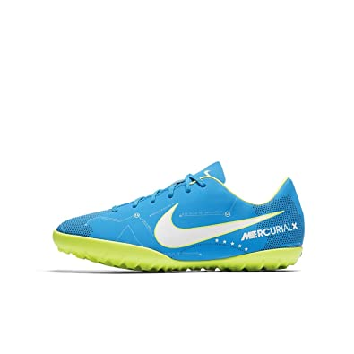 b37c4fb97 Nike Youth MercurialX Victory VI Neymar Turf Shoes  Blue Orbit  (10.5C)