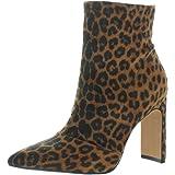 Jessica Simpson Womens Briyanne Leopard Print Fashion Dress Boots