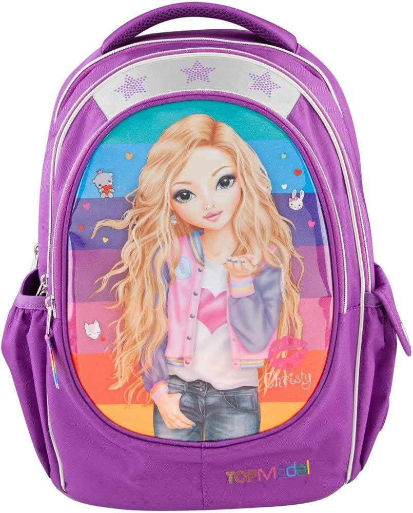 Top Model Friends - Mochila Escolar Purpurina, 40 cm, Multicolor: Amazon.es: Equipaje